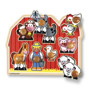 Large Farm Jumbo Knob Puzzle - 8 pieces