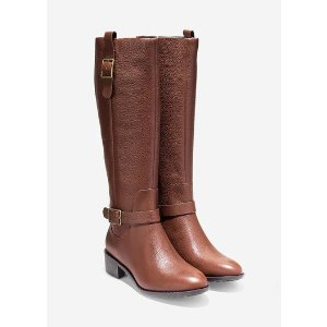 Kenmare Boots 40mm in Harvest Brown | Cole Haan Outlet
