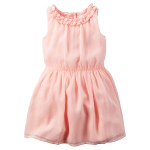 Toddler Girl Crinkle Chiffon Dress | Carters.com