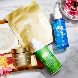 Choose 3 deluxe samples with Any $45 Purchase @ Origins