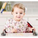 宝宝吃饭、画画必备品!Bumkins 婴儿防水长袖反穿衣