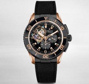 Zenith Men's El Primero Stratos Spindrift Watch