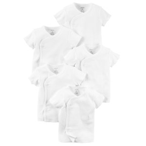 Baby Neutral 5-Pack Kimono Tees | Carters.com