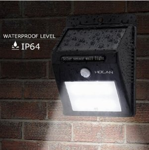 Holan 12 LED Waterproof Solar Motion Sensor Light