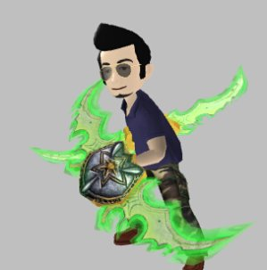 Free! Xbox Avatar Prop: World of Warcraft: Legion Warglaives & Air Jordan XXXI