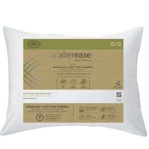 Aller-Ease Naturals Organic Cotton Allergy Protection Pillow