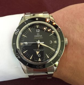 FLASH SALE! OMEGA Seamaster 300 Automatic Black Dial Men's Watch