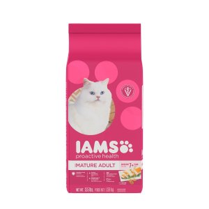 $3.55 IAMS Proactive Health Senior Adult Dry Cat Food