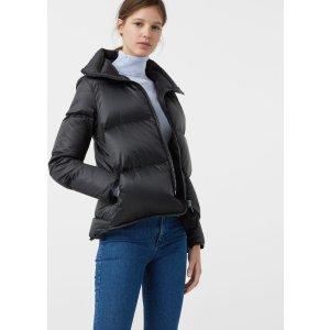 Feather down coat - Woman | MANGO USA