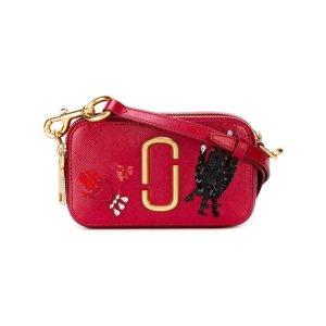 Marc Jacobs Hand To Heart Snapshot Crossbody Bag