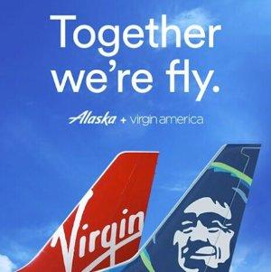 4个好消息1个坏消息解读阿拉斯加&维珍航空合并细节!积分1:1.3转换, 累计里程比例提高