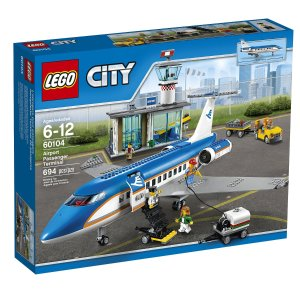 LEGO City Airport 60104 Airport Passenger Terminal Building Kit