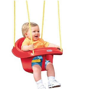 $15.68 Little Tikes High Back Toddler Swing
