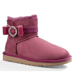 Women's Karlie Brooch Sheepskin Boots