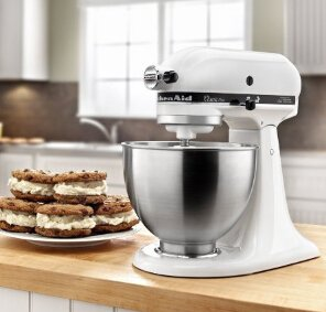 2016 Black Friday!$206.99 KitchenAid® Artisan® 4.5QT Ultra Power Stand Mixer KSM75WH