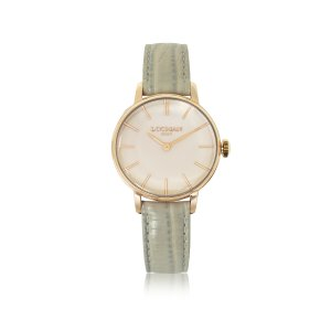 Locman 1960 Rose Gold PVD Stainless Steel Women's Watch w/Light Grey Python Embossed Leather Strap at FORZIERI