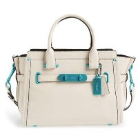 COACH 'Soft Swagger 27' Leather Satche