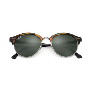 Ray-Ban Clubround Tortoise Black, RB4246 | Ray-Ban® USA