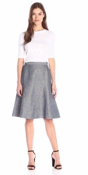 Theory Women's Saminta Linen Jean Flare Skirt