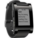 Pebble - Smartwatch for Select Apple® and Android Devices - Black (Unlocked)