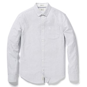 BRUSHED STRIPED OXFORD SHIRT | Original Penguin