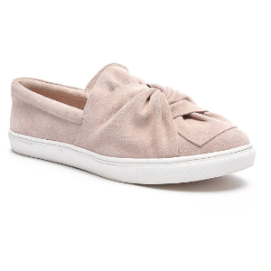 Steve Madden Knotty Knotted Slip On Suede Sneakers   South Moon Under