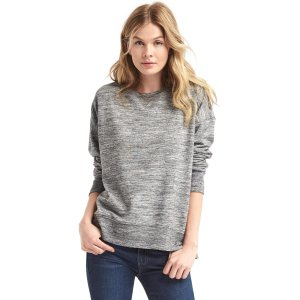 Slouchy pullover sweatshirt | Gap