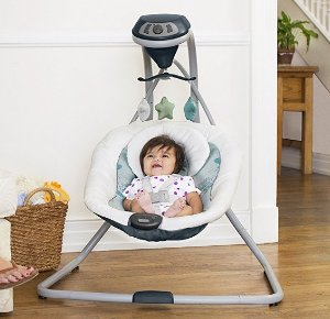 $56.39 Graco Simple Sway Swing, Stratus