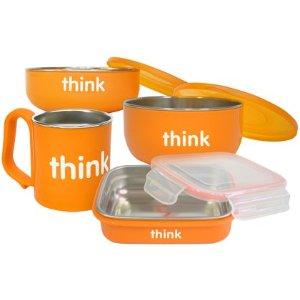 thinkbaby The Complete Feeding Set - Orange - Free Shipping
