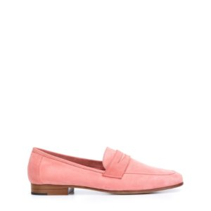 MG Classic Suede Loafer Pink