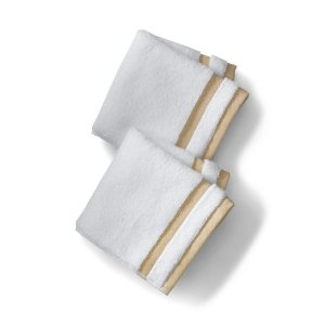 Essential Dobby Striped Towels from Lands' End