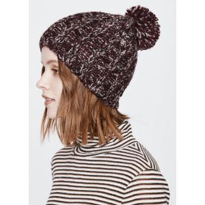 Chunky Melange Slouchy Hat