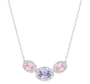 Swarovski Christie Frontal Oval Necklace