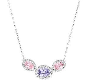 Swarovski Christie Frontal Oval Necklace