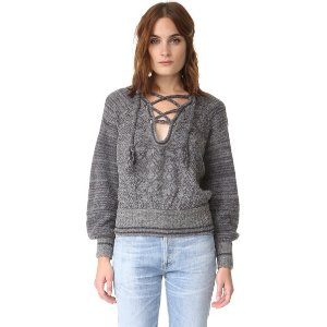 Free People Hoops & Hollas Sweater | SHOPBOP SAVE UP TO 25% Use Code: GOBIG16