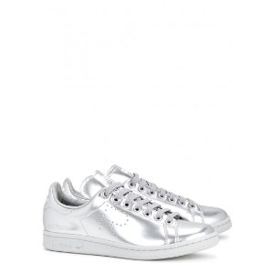 adidas X Raf Simons Stan Smith silver trainers