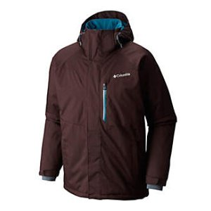 Men's Alpine Action Insulated Hooded Winter Ski Jacket