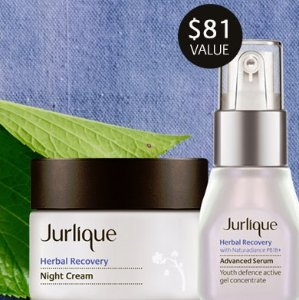 Free Herbal Recovery Night Ritual Gift ($81)with Any $125 Purchase @ Jurlique