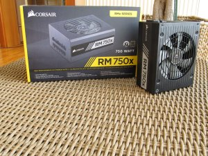 Corsair RM750x 750W 80 Plus Gold Full Modular Power Supply