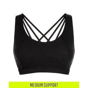 Infinity Workout Bra - Black | Sports Bras | Sweaty Betty