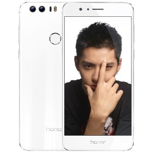 $394.14 Huawei Honor 8 Dual Camera Unlocked Phone - 32GB - Pearl White
