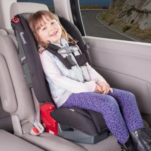 $150.39 Diono Radian R100 Convertible Car Seat, Black Mist