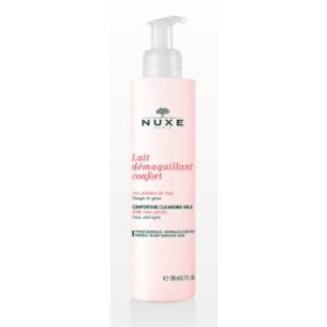 Cleansing Milk with Rose Petals, Facial Cleansers - NUXE