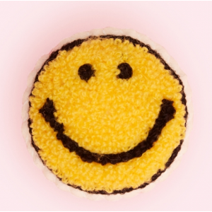 Boucle Smiley Face Pin