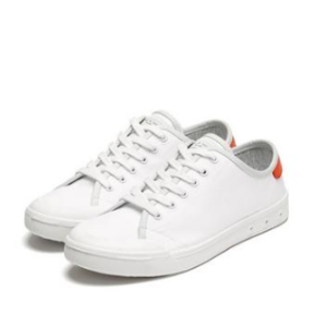 Womens Standard Issue Lace Up - WHITE / RED | rag & bone