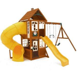 Cedar Summit Castlewood Wooden Play Set