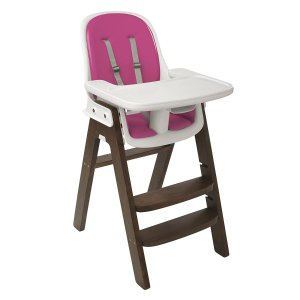 OXO Tot Sprout Chair, Pink/Walnut