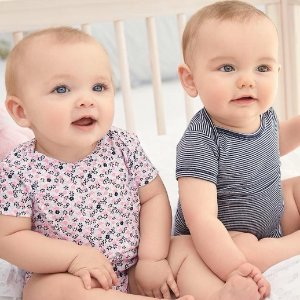 Up to 60% Off + Extra 20% off $50 Baby Clothing @ Carter's