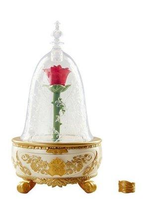 $15.99迪士尼 永生玫瑰 音乐发光首饰盒