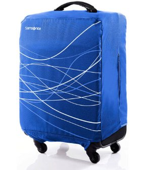 Samsonite Foldable Luggage Cover Large - Blue